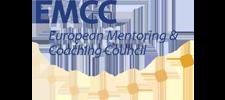 Het logo van de EMCC (European Mentoring & Coaching Council).